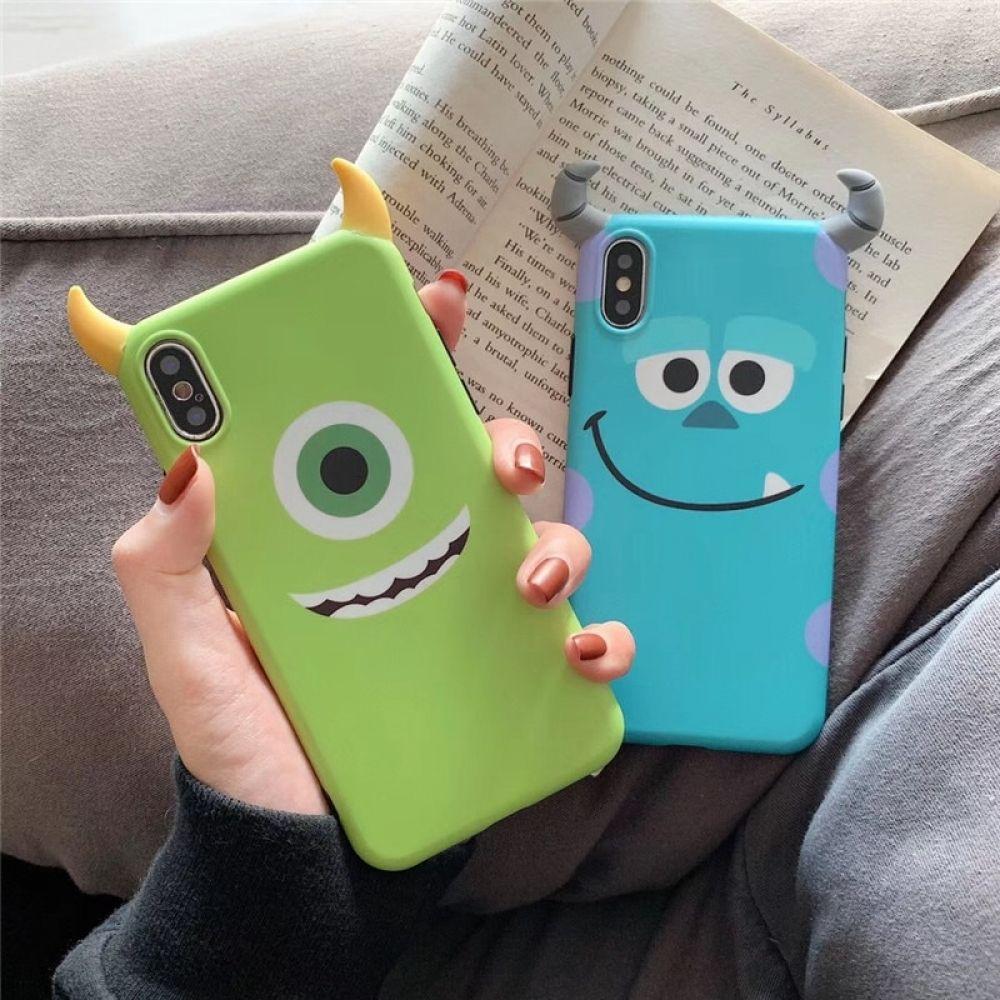 Cute 3D Monsters University Case