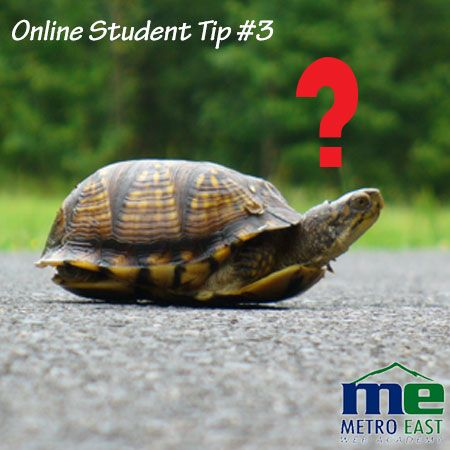 In an online learning environment it is essential to ask for help, and the sooner the better so we can help you get back on track towards your goals.