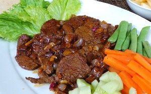 Resep Bistik Daging Sapi Sederhana Resep Bistik Daging Sapi Daging Giling Bistik Ayam Aneka Resep Masakan Bi Resep Daging Resep Masakan Resep Masakan Indonesia
