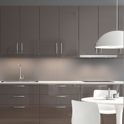 It kitchens santini gloss anthracite slab google search for Cuisine ikea gloss