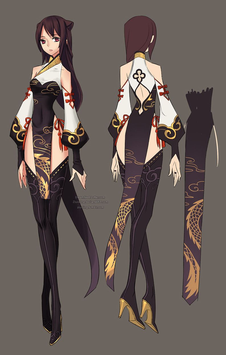 O Drawing Anime Clothes Character Design Inspiration Fantasy Character Design