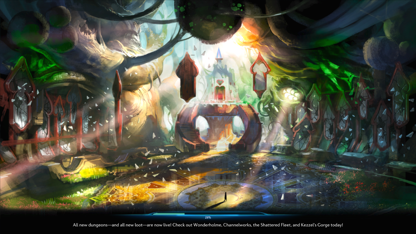 TERA online | Loading screen by AnieMarch deviantart com on