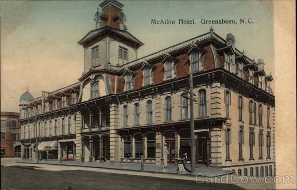Mcadoo Hotel Gate City Hotel Greensboro