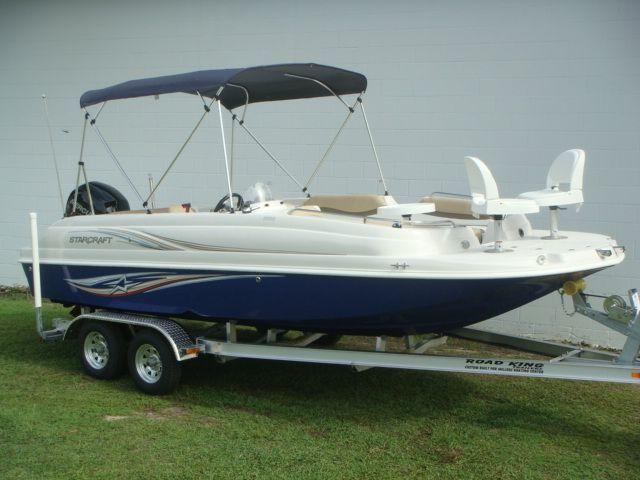 2014 starcraft deck boat 2000 ob fish in ocala fl boat for Starcraft fishing boats