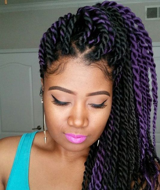 This Is So Pretty Makes Me Want Twists So Bad Hair Styles African Hair Braiding Pictures Senegalese Twist Hairstyles