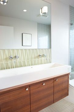 Mid Century Modern Bathroom Design Houzz  Home Design Decorating And Remodeling Ideas And