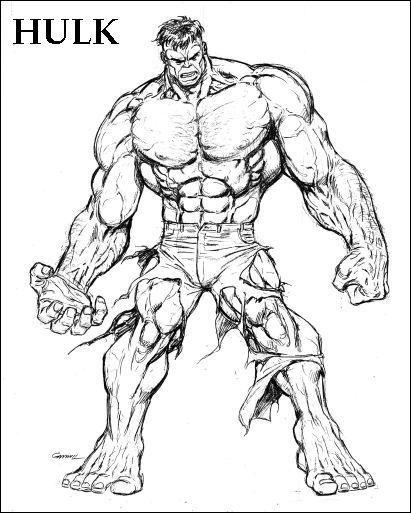 17 Grand Hulk Dessin Photograph en 2020 | Coloriage, Hulk ...