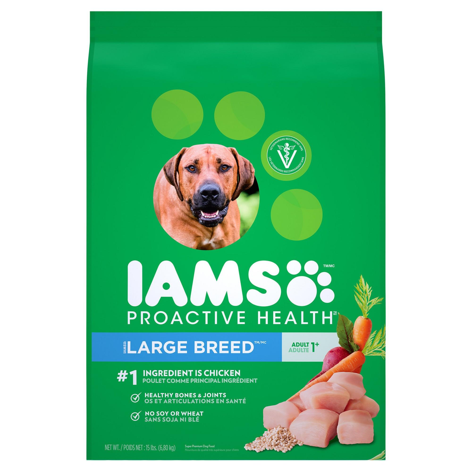 Iams Proactive Health Adult Large Breed Premium Dry Dog Food 15