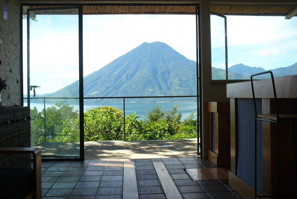 House in San Marcos La Laguna, Guatemala. This beautiful