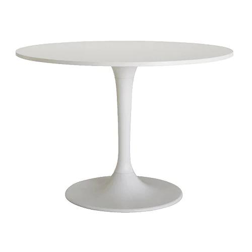 Witte Ronde Tafel Ikea.Docksta Tafel Wit Tudorstyle Vastgoedstyling