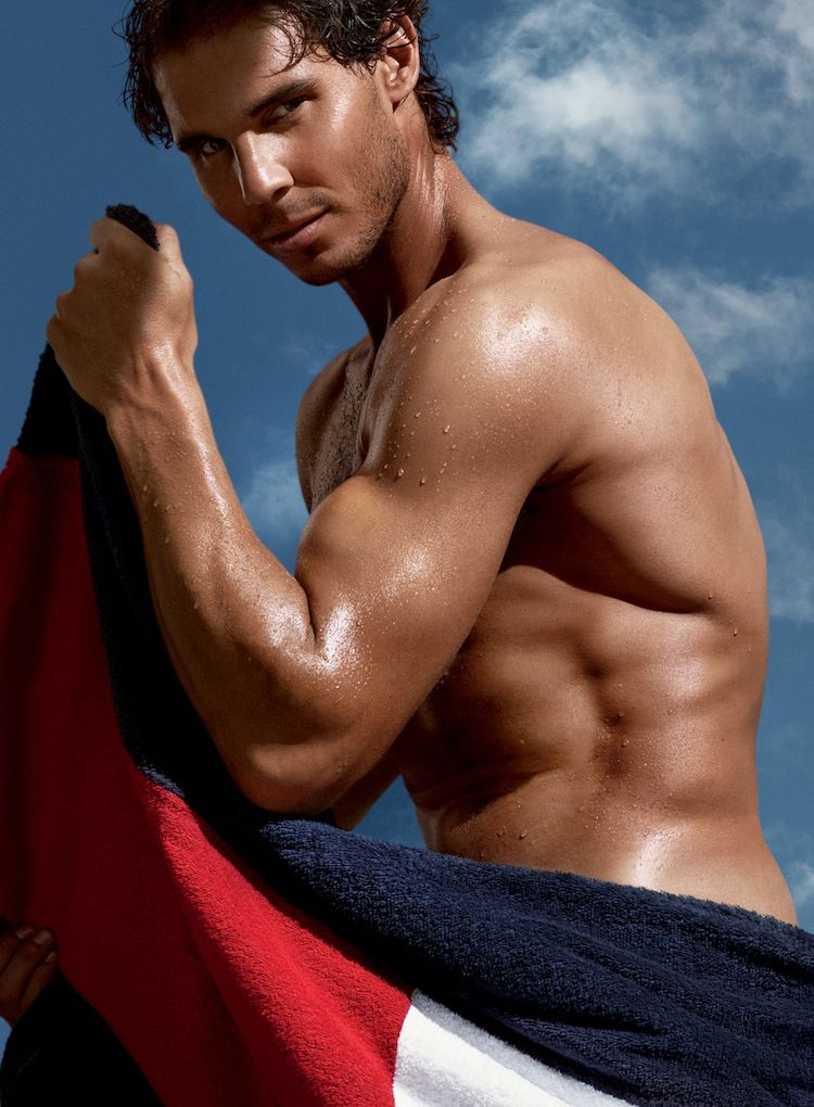 The tennis champion Rafael Nadal is the newest face—and body—for Tommy  Hilfiger designs and for the TH Bold fragrance.