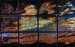 Sunset in 12 Panels