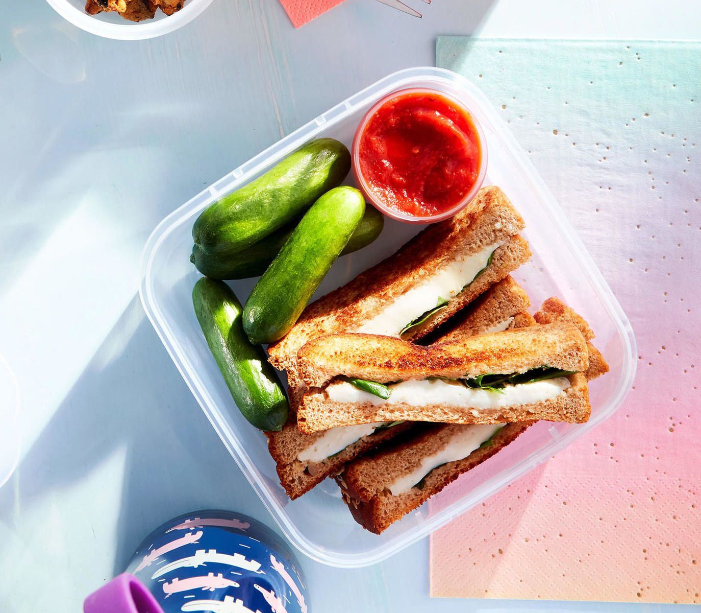 Caprese sandwich sticks with images caprese sandwich