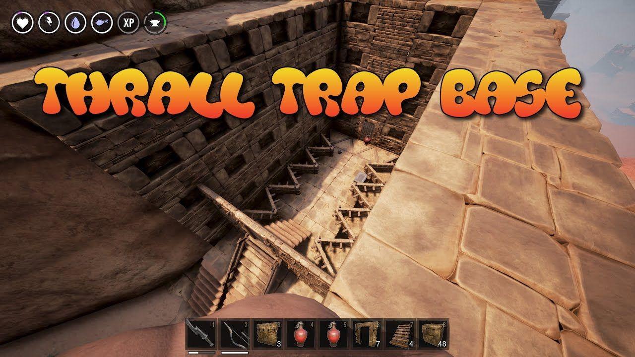 Conan Exiles Thrall Trap Base Design They Will Never Know Conan Exiles Conan Traps