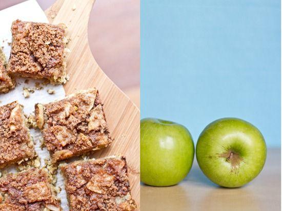 Vegan Buttery Apple Streusel Oat Squares