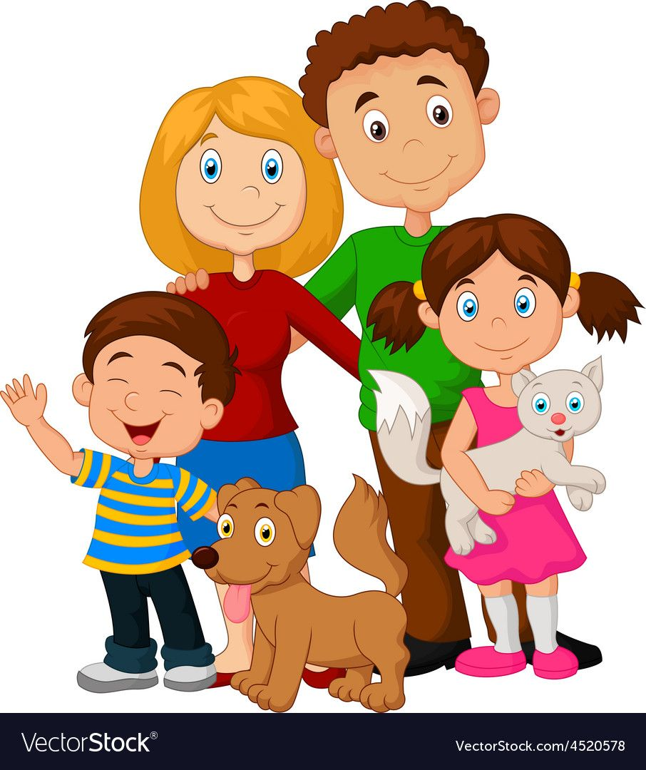 hight resolution of family vector family clipart happy family my family fabric painting paint