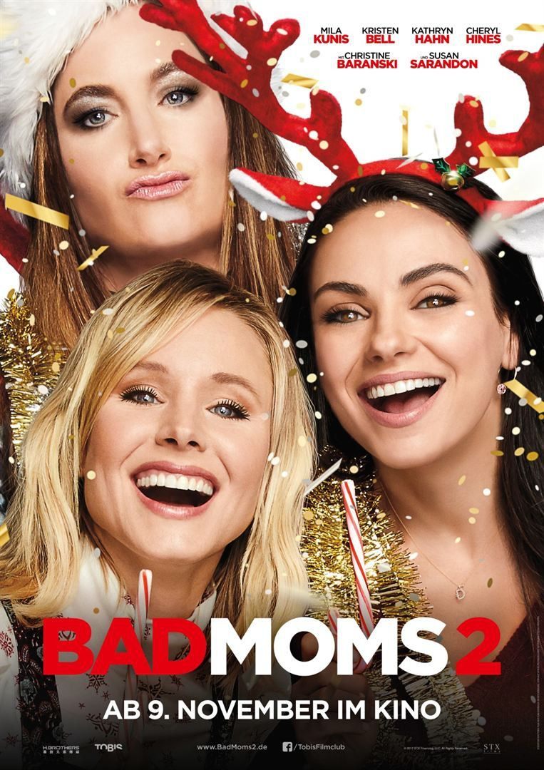 A Bad Moms Christmas Movie Poster.Bad Moms 2 Movies Bad Moms Movie Christmas Mom