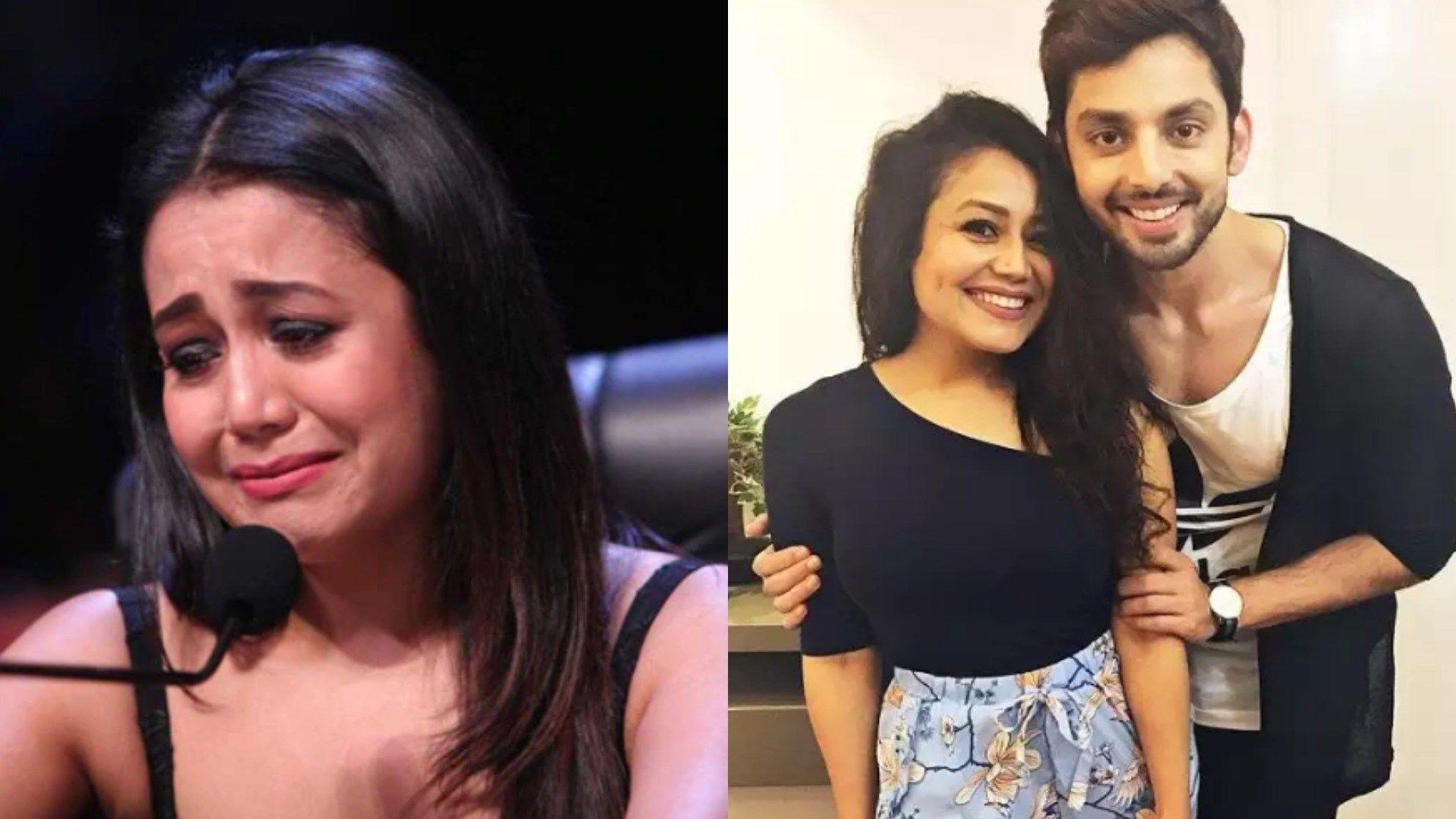 Neha Kakkar breaks down on Indian Idol post breakup with