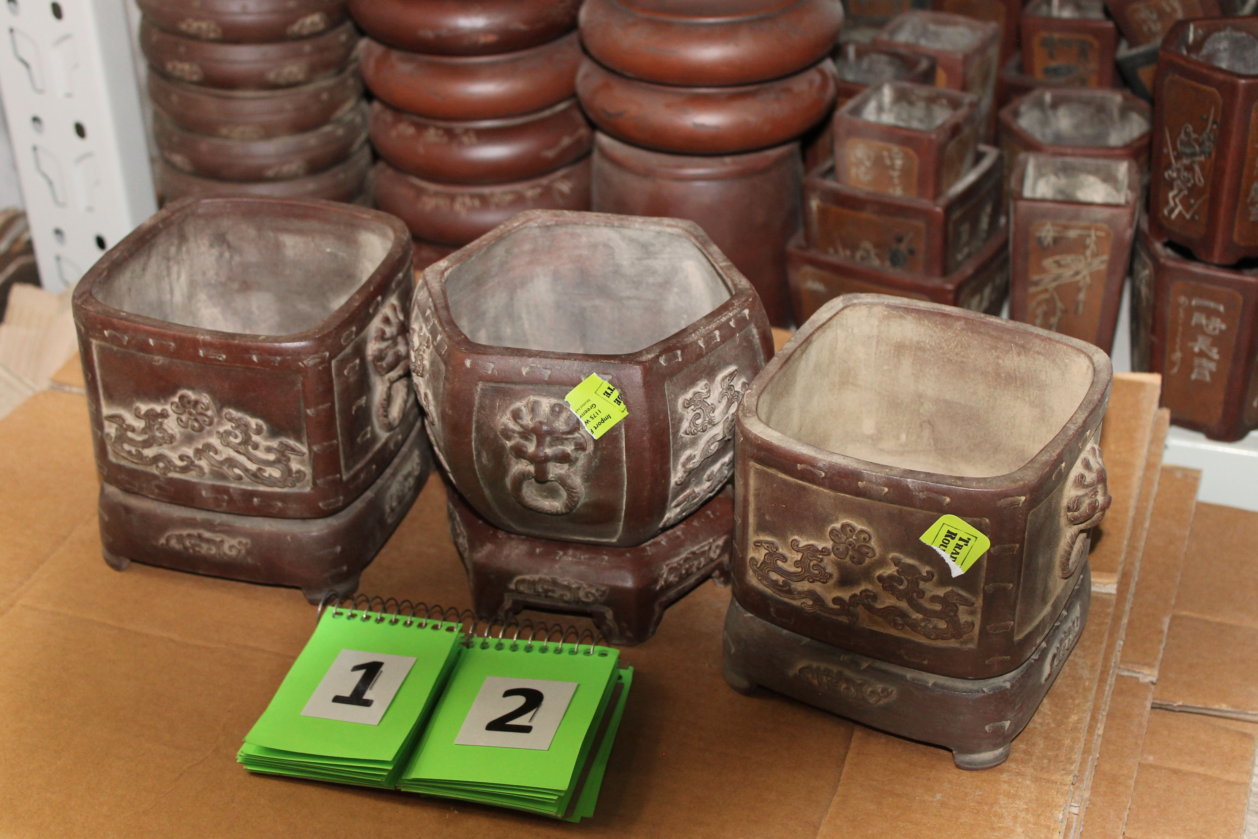 Fine Terracotta Bonsai Pots From Beijing China Ceramics Pabps2019 Chair Design Images Pabps2019Com