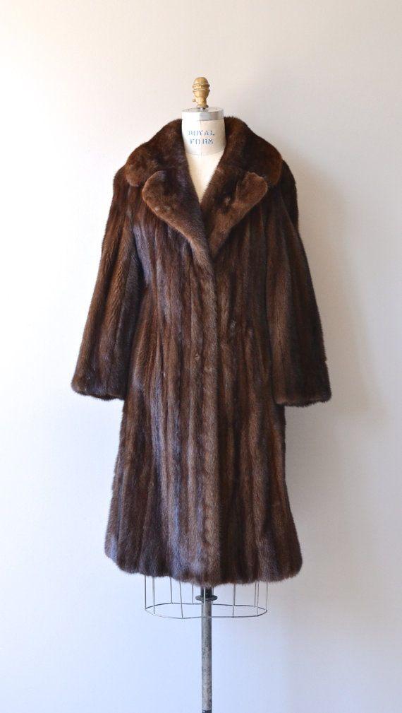 Mink Coat Value >> Caucus Club Mink Coat 1950s Mink Coat Vintage 50s By Deargolden