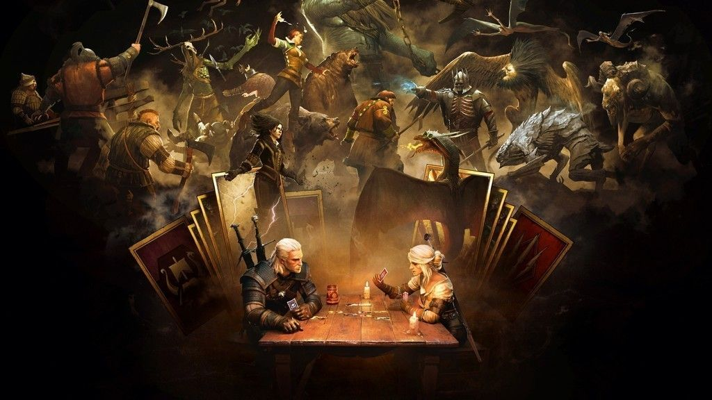 Gwent The Witcher Card Game Playstation 4 Xbox One Pc 2017 Wallpaper The Witcher Gaming Wallpapers Game Art