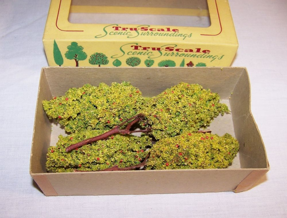 HO Scale Apple Trees TruScale Vintage Scenic Surroundings