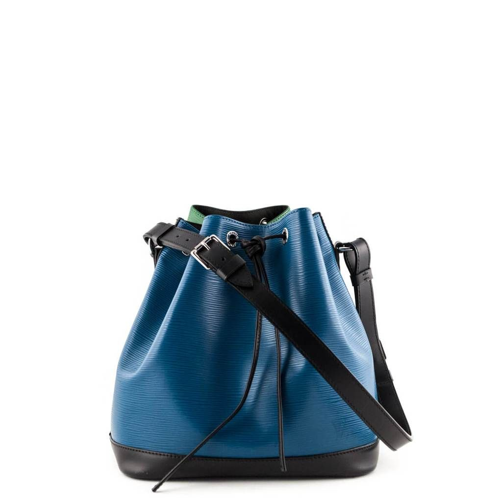5614a7e4a27 Louis Vuitton Two-Tone Epi Petit Noe NM - LOVE that BAG - Preowned Authentic