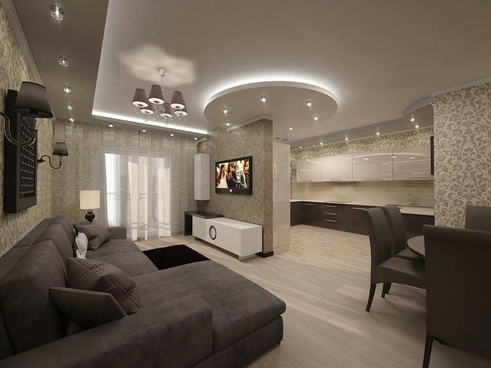 sala comedor cocina house ideas interiores de casa. Black Bedroom Furniture Sets. Home Design Ideas