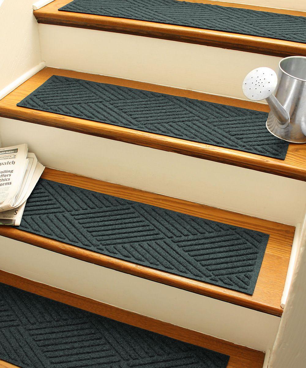 Best Evergreen Diamond Aqua Shield Stair Tread Set Of Four 400 x 300