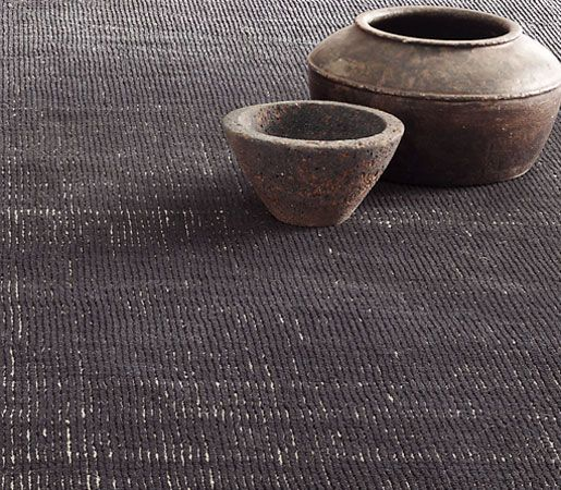distressed wool rug by rh contract - charcoal | masterfully