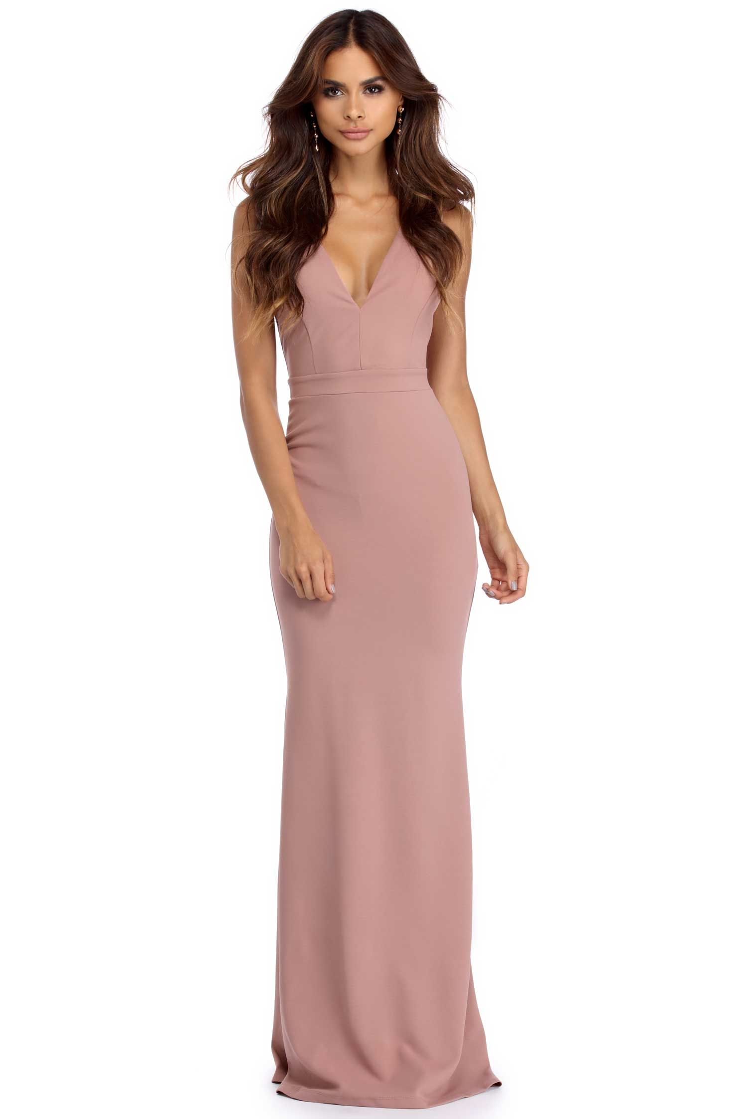 612405cf4f Miriam Lady In Mauve Dress