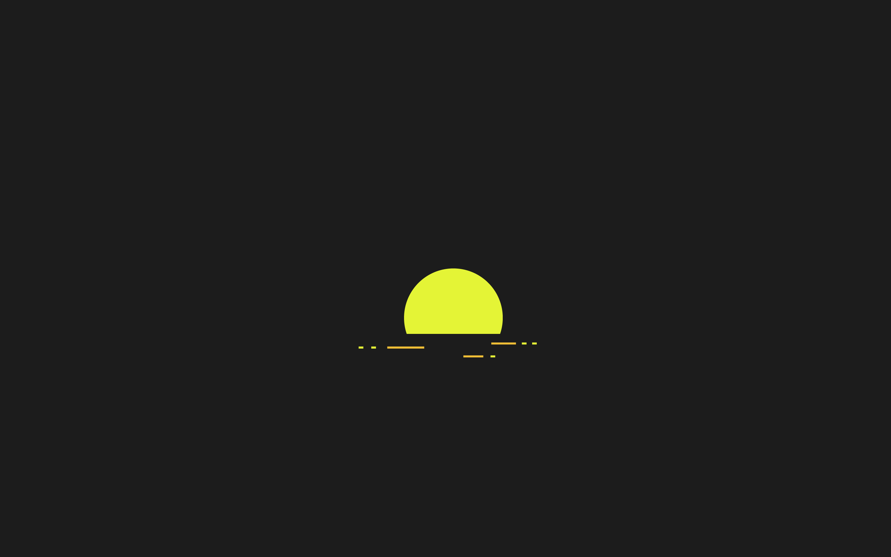 rising sun in 2019 Minimalist desktop wallpaper