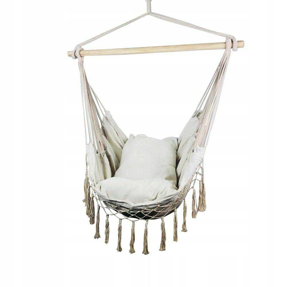 Kup Teraz Na Allegro Pl Za 99 Zl Krzeslo Brazylijskie Wiszace Hamak 2 Poduszki 7943244608 Allegro Pl Radosc Zakup Hanging Swing Hammock Swing Swing Seat