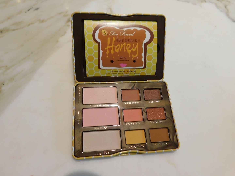Tuto maquillage avec la Peanut Butter Honey de Too Faced