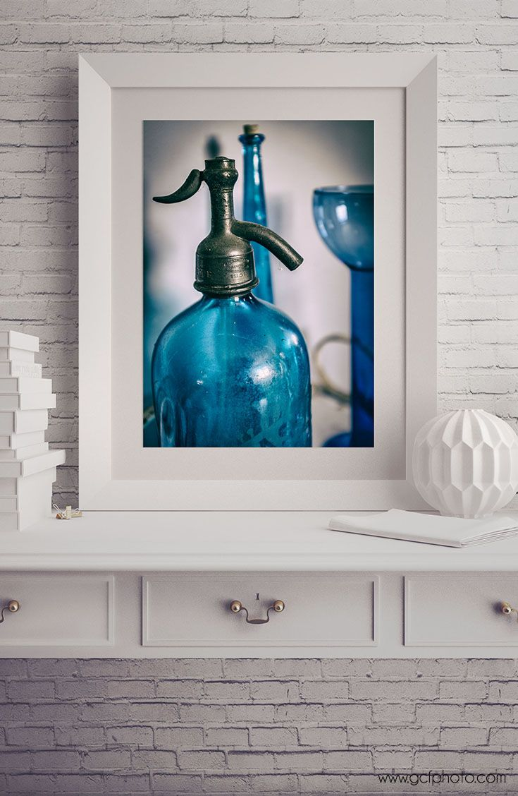 Blue kitchen decor rustic wall decor large blue wall art large