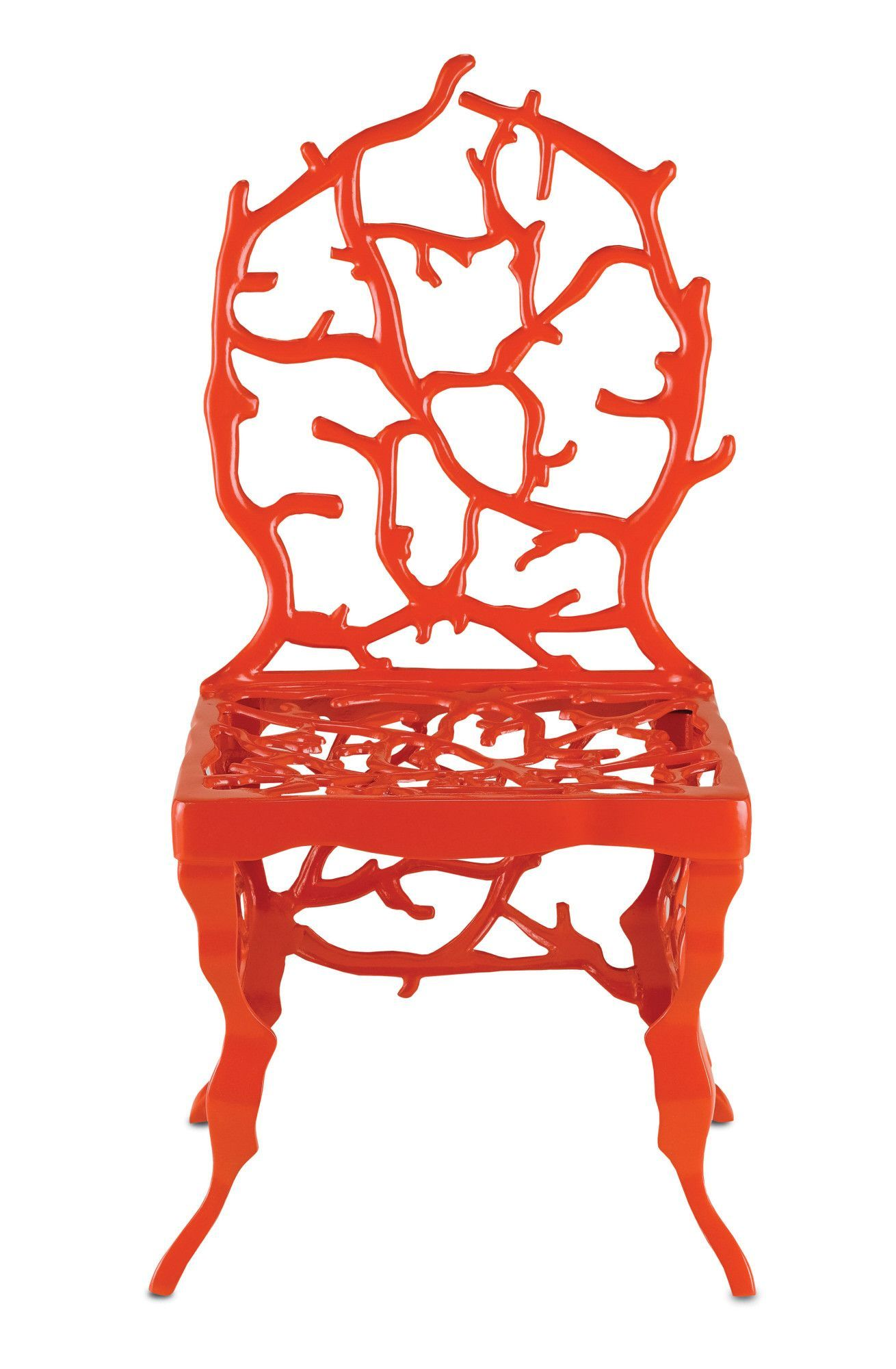 Corail Accent Chair In Red Design By Currey Amp Company