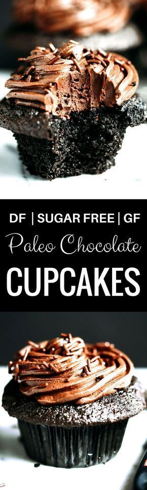 Photo of Paleo Coconut Flour Chocolate Cupcakes – Paleo Gluten Free Eats