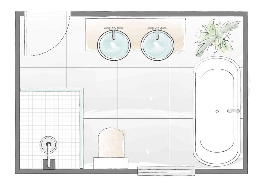 Photo of Bathroom layout plans – for small and large rooms