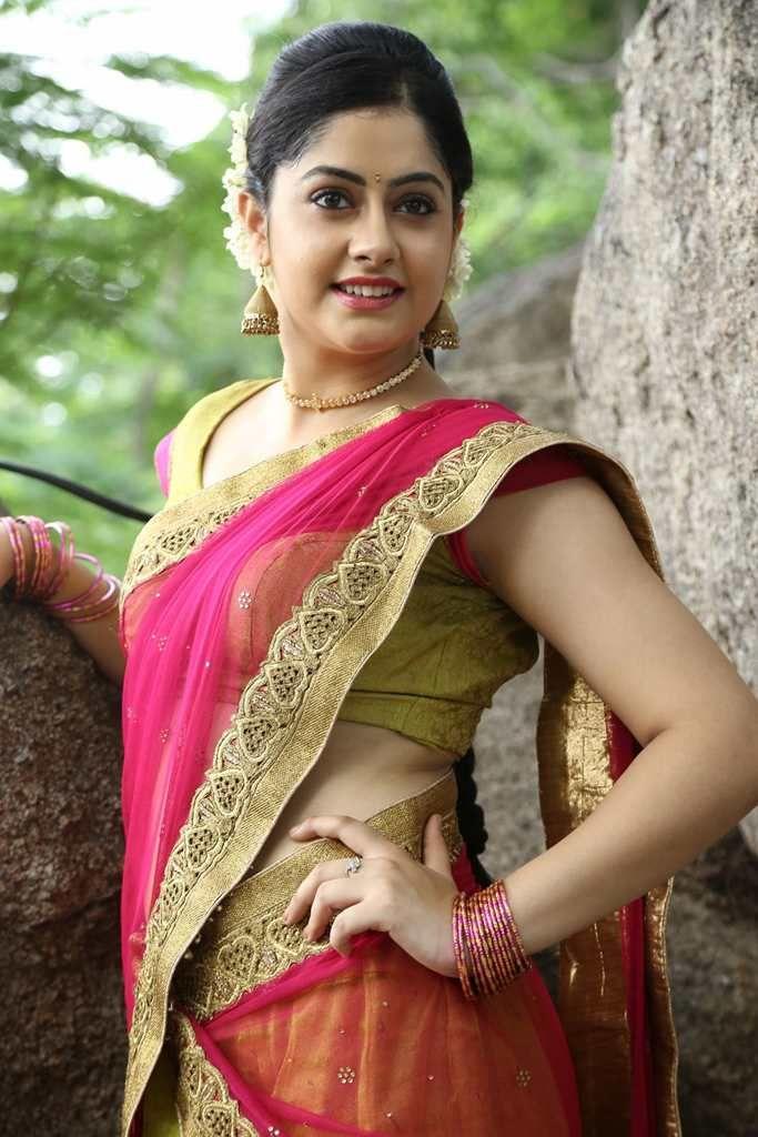 Ronica Singh in Half Saree at Gilli Danda Movie Launch Photos   Beauty   Indian girls, Half saree, Punjabi actress