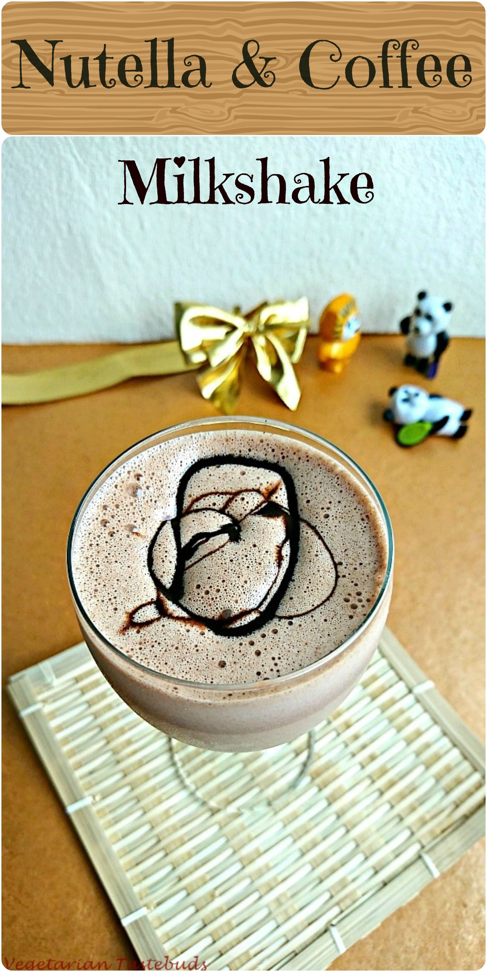 Nutella coffee milkshake recipenjoy indian food community nutella and coffee sounds temptingisnt it this a yummy and easy milkshake that will be loved by all addition of chocolate sauce before serving makes forumfinder Images