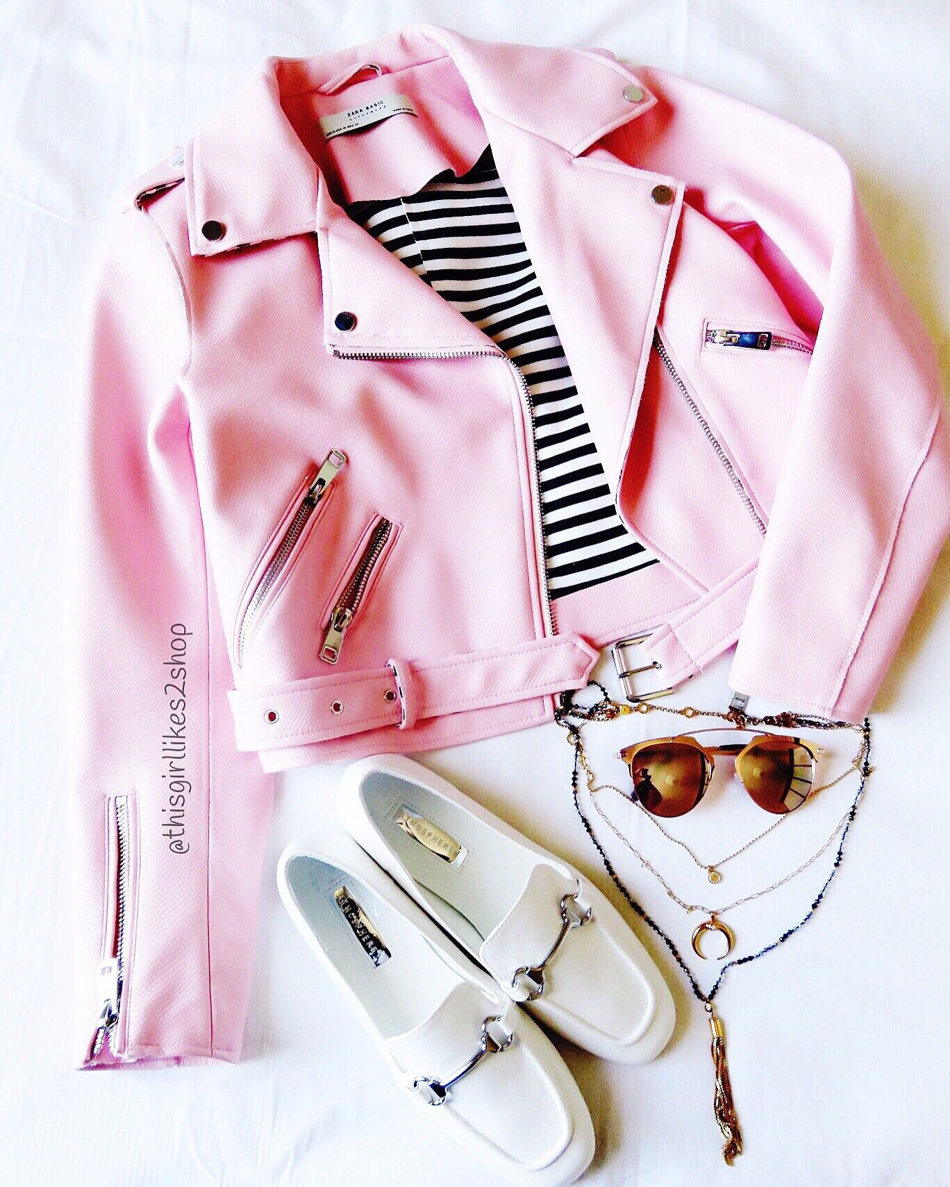 b1204248bec Jacket from Zara Gucci inspired flats   sunglasses from primark