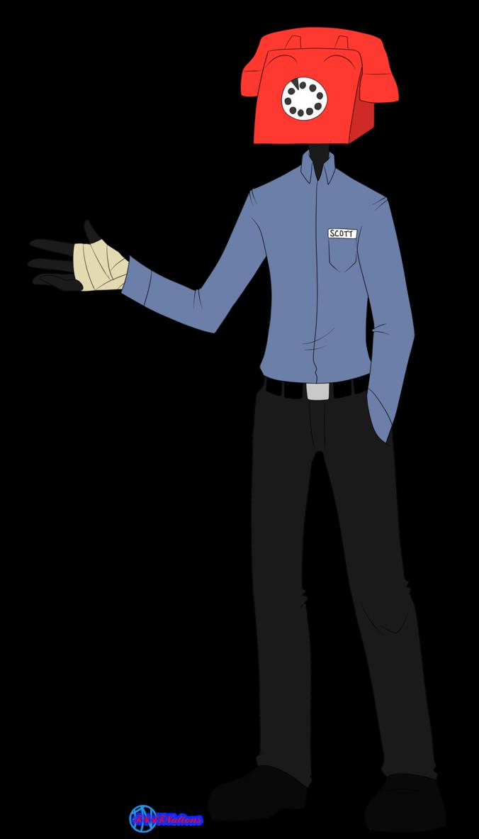 Clipart Phone Guy Transparent Fnaf Night Guards Purple Guy Fnaf
