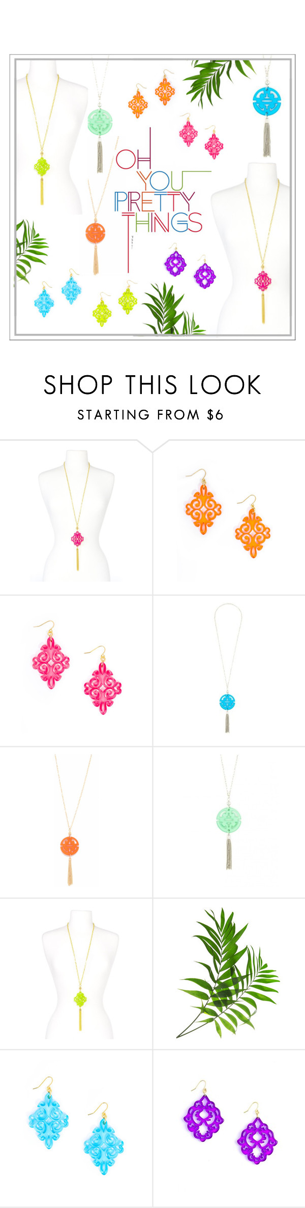 Spring Color Trend by girl-intuitive on Polyvore featuring brights, colorful, bohochic and trends