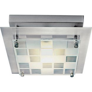 Buy Seda Square Check Ceiling Fitting Silver At Argos Co Uk Your Online Shop For Ceiling And
