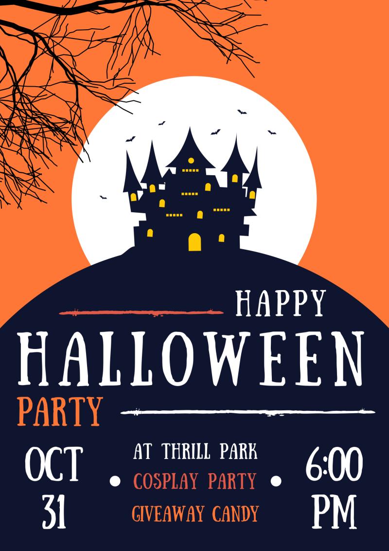 Happy Halloween Poster Halloween, Posters, Áp phích