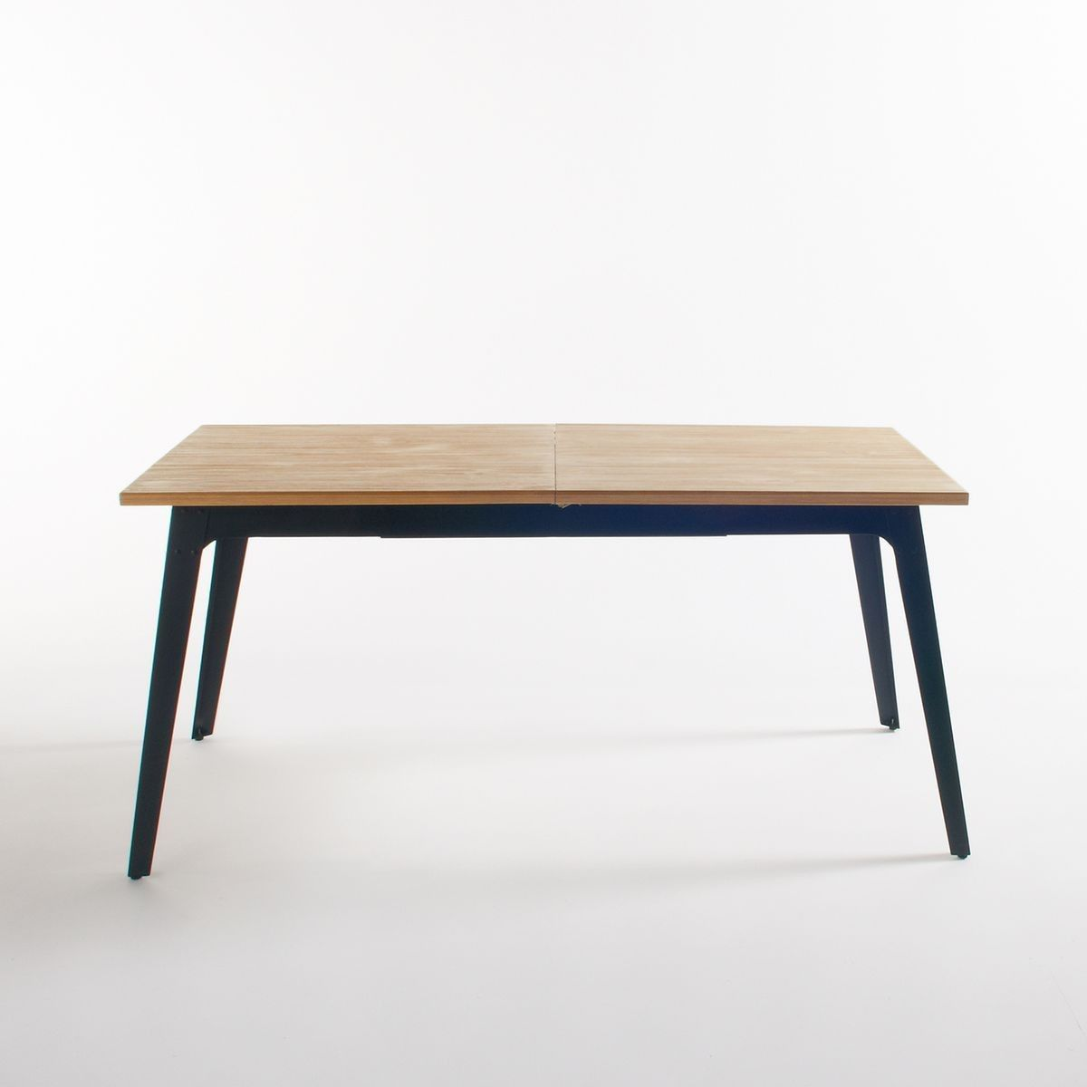 Table A Manger 2 Allonges 6 8 Couverts Daffo Taille 8 Pers Table A Manger Table Salle A Manger Et Meuble Bois Metal