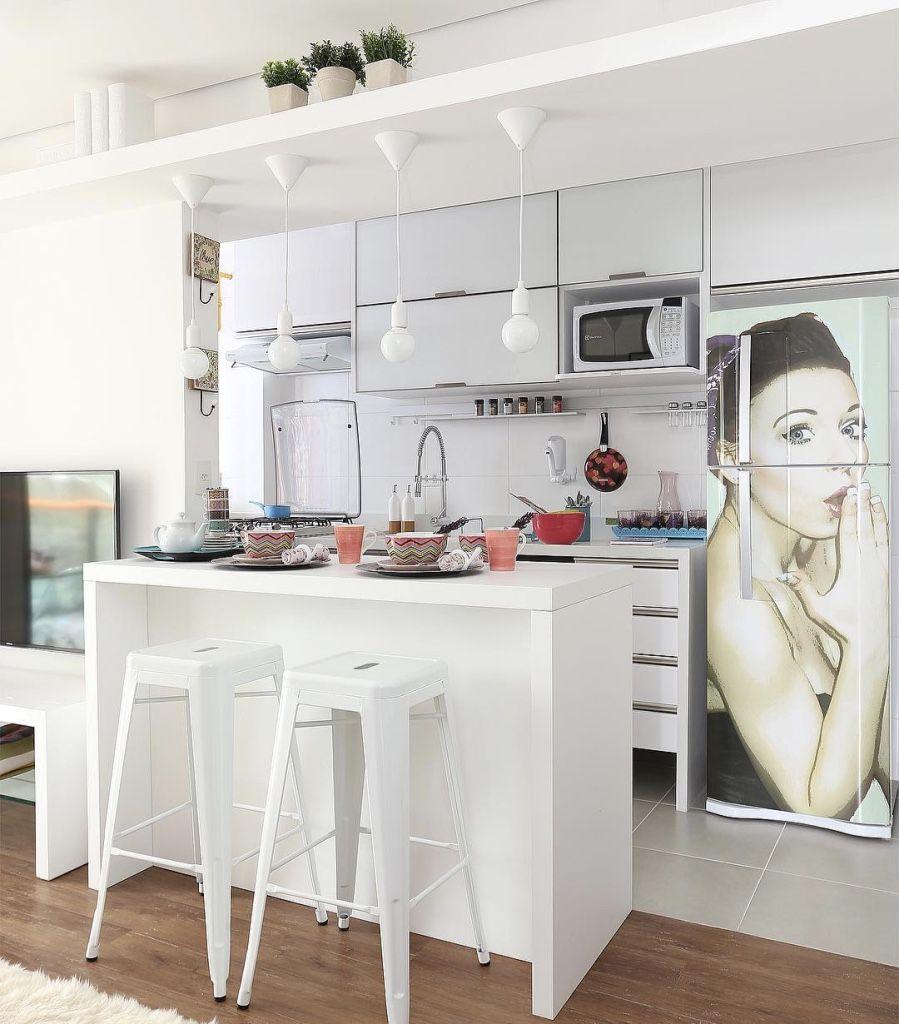 Projeto Cozinha Americana Pequena Fabulous Cozinha Amarela With
