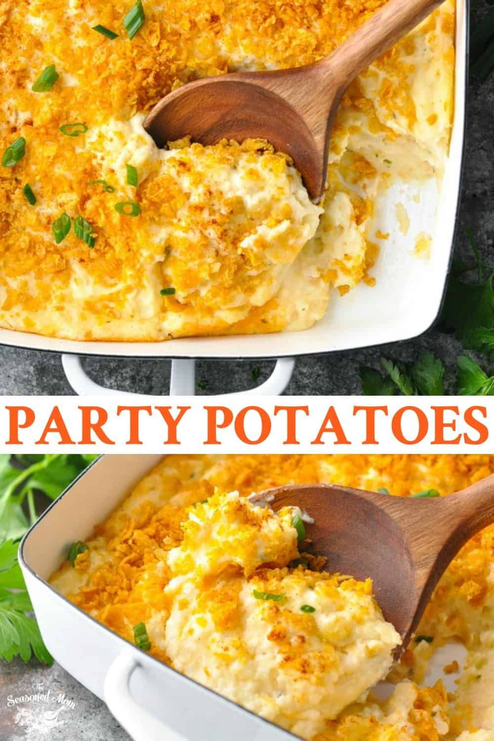 Party Potatoes Recipe In 2020 Potato Recipes Side Dishes Party Potatoes Potato Side Dishes