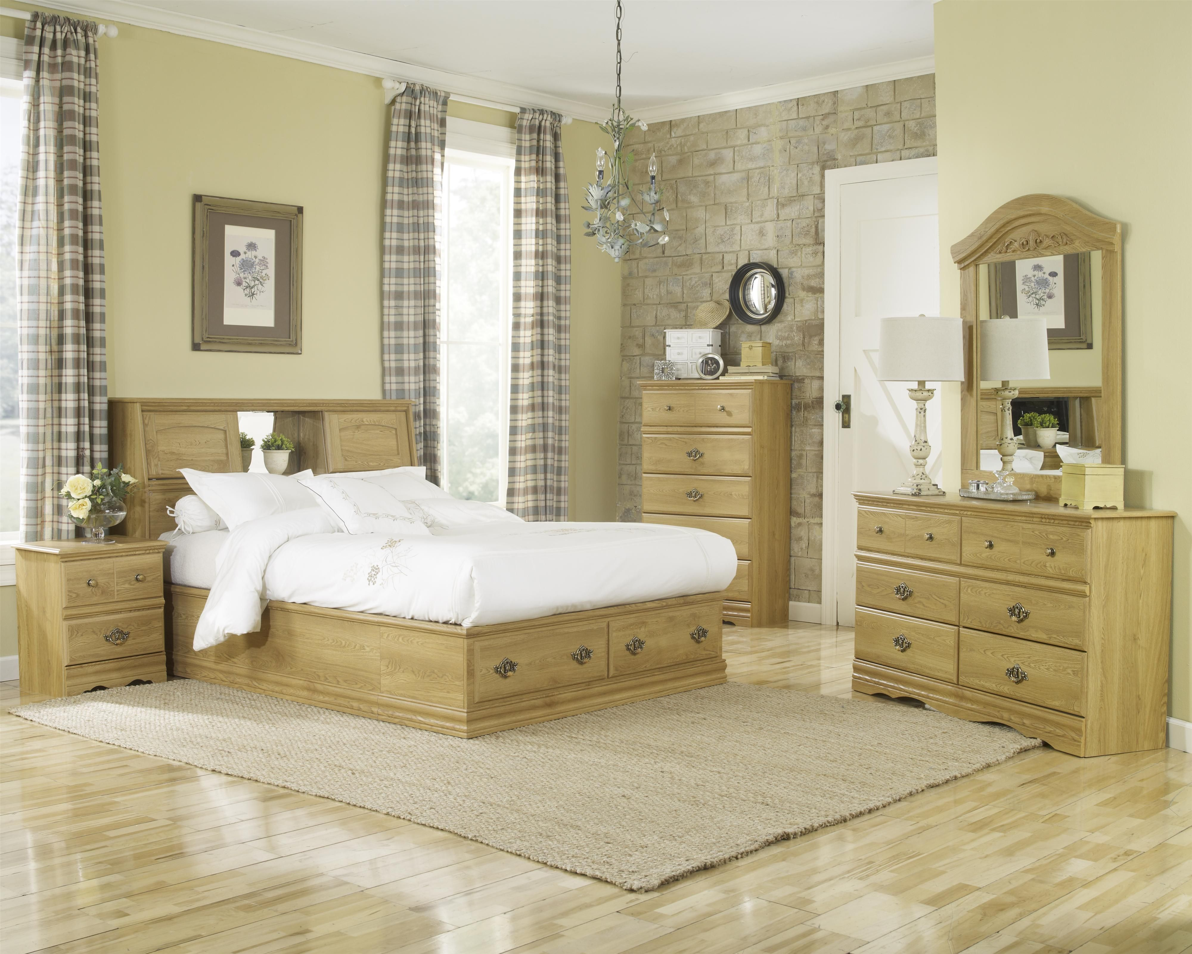 Oak Creek Oak By Lang A1 Furniture Bedding Lang Oak Creek