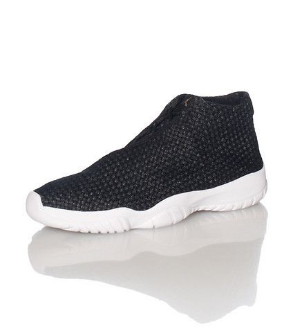finest selection b1659 83a0c JORDAN Low top woven sneaker Asymmetrical no-lace closure Cushioned inner  sole